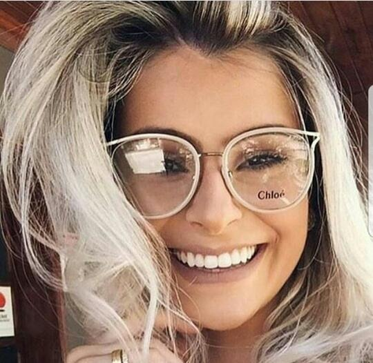 12805589427b6 Oculos Chloe Redondo Feminino Modelo Lançamento -cl500 - R  134