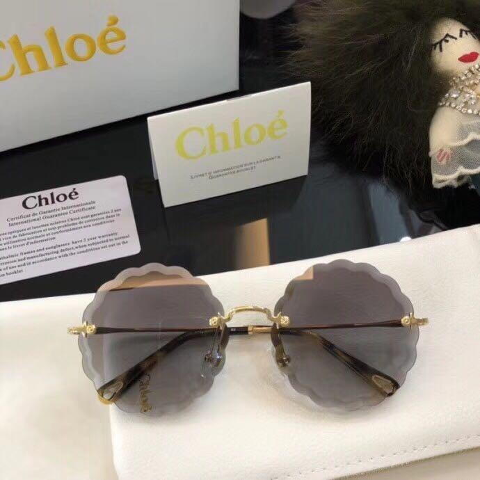 6afe7eb7f01d1 Óculos Chloé Rosie Carlina Flower Feminino De Sol - R  479,00 em ...