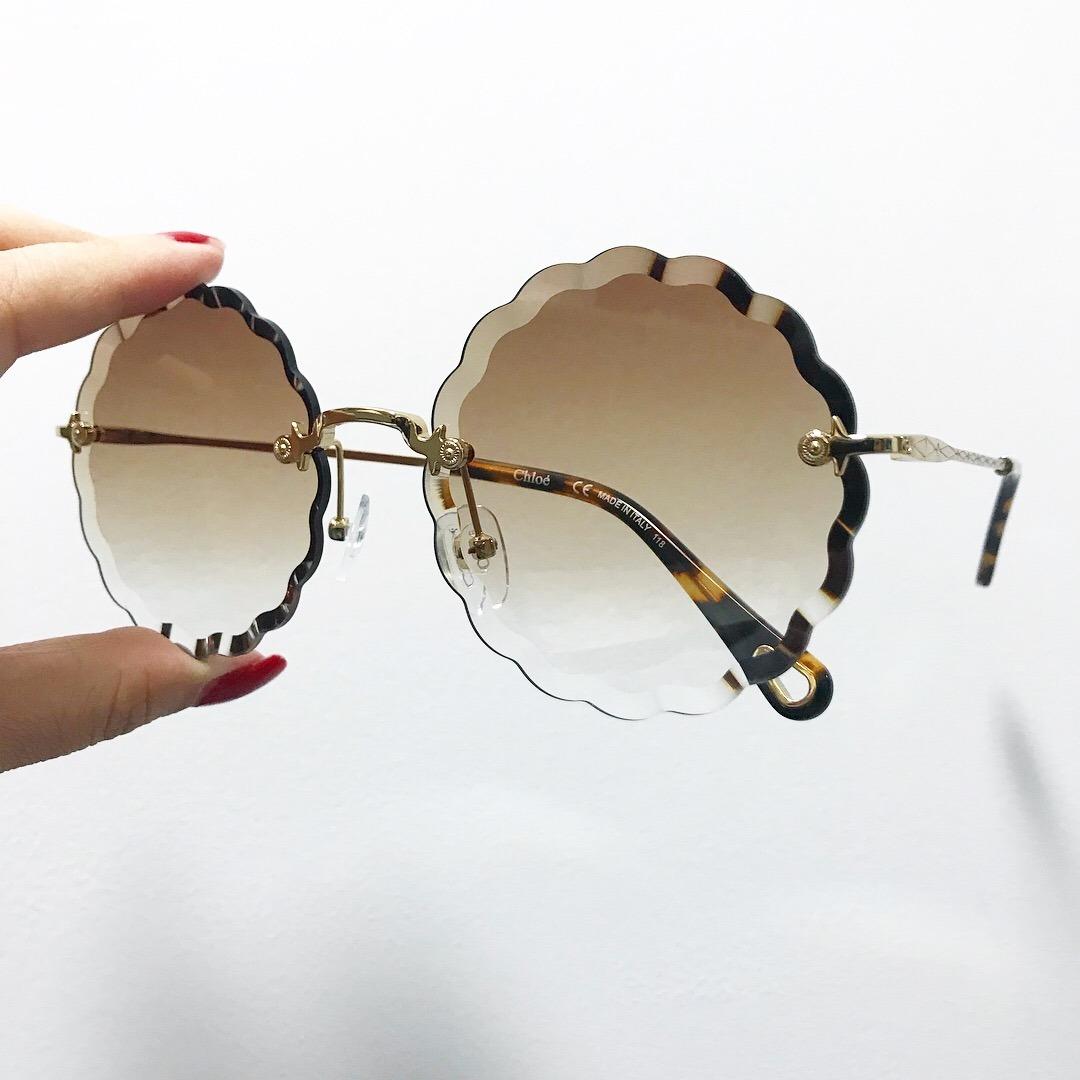 Óculos Chloé Rosie Carlina Flower Feminino De Sol - R  579,00 em Mercado  Livre 467499b554