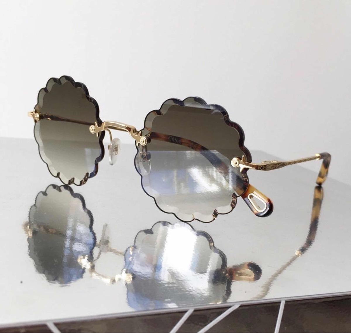 Óculos Chloé Rosie Cinza Original - R  690,00 em Mercado Livre 5faca10191