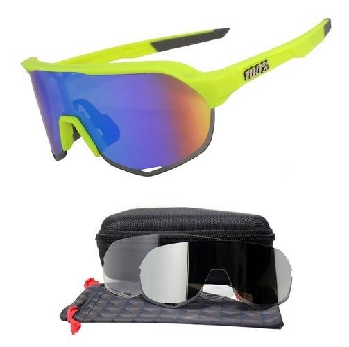 58c81d702 Óculos Ciclismo 3 Lentes Lançamento 2019 - R$ 190,00 em Mercado Livre