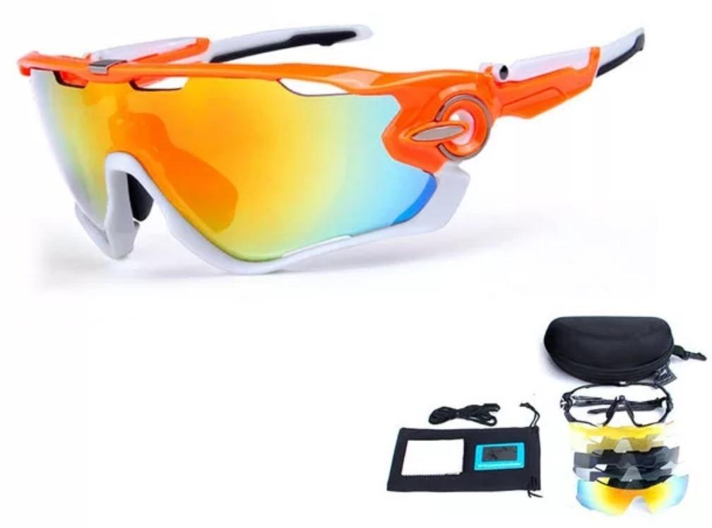 Oculos Ciclismo 5 Lentes (oakley, Jawbreaker, 100%) - R  160,00 em ... c460b7e430