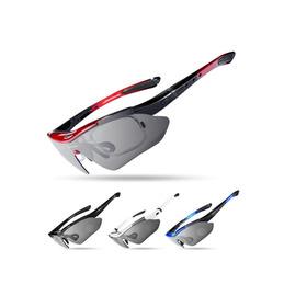 Óculos Ciclismo 5 Lentes Polarizado Unissex Clip Lentegrau %