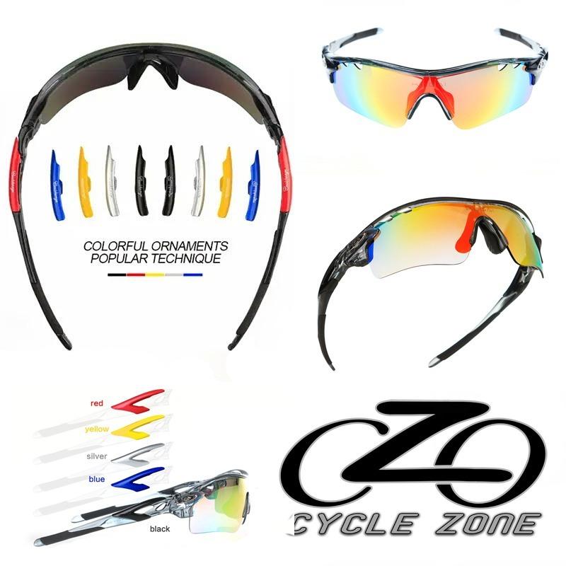 f7176516b20ab óculos ciclismo 5 lentes uv + polarizado + grau + acessórios. Carregando  zoom... óculos ciclismo acessórios. Carregando zoom.