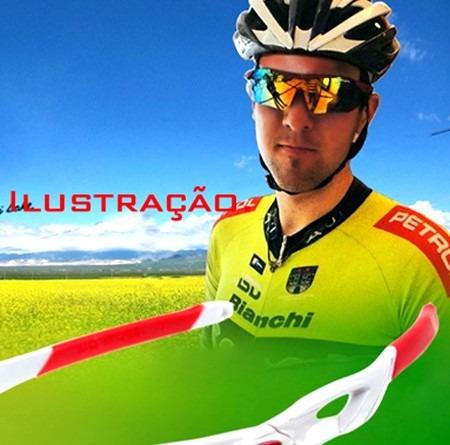Óculos Ciclismo Bike Pedal Mtb Corrida Branco Black Friday - R  34 ... 8d0a367f27