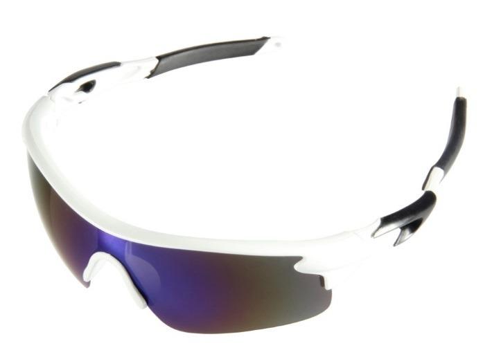 Óculos Ciclismo Bike Pedal Mtb Corrida Branco E Preto Uv400 - R  45 ... 904c1403c7