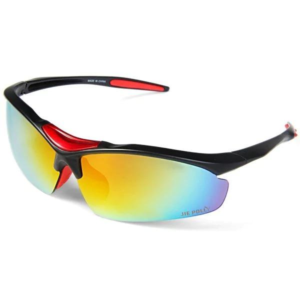 c199de6f2 Óculos Ciclismo Ciclista Com 4 Lentes Intercambiáveis Uv400 - R$ 44 ...