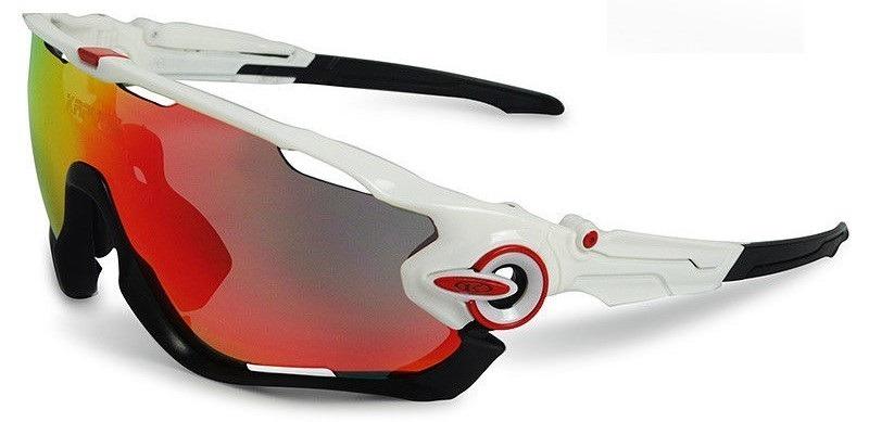 Óculos Ciclismo Corrida 4 Lentes Armação Varias Cores - R  118,00 em ... f01a095371