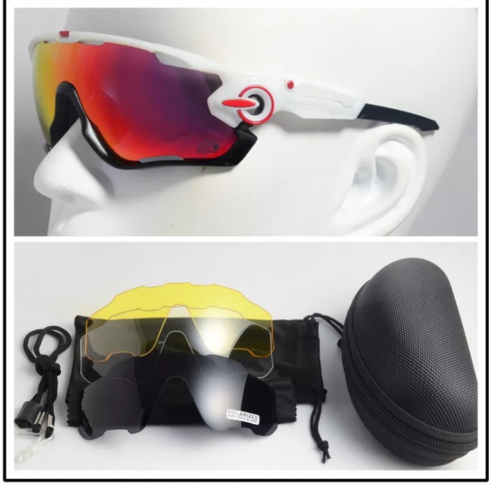 1ada2c3f70b6b Oculos Ciclismo Corrida Mtb Speed 4 Lentes   Mod. Oakley - R  120