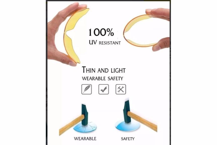 e1489c6499ea6 Óculos Ciclismo Corrida Proteção Uv 400 Transparente - R  15,00 em ...
