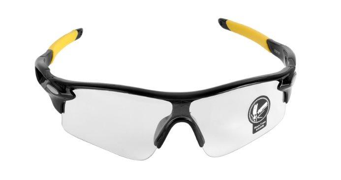 57103917c108c Óculos Ciclismo Corrida Proteção Uv 400 Transparente - R  15,00 em Mercado  Livre