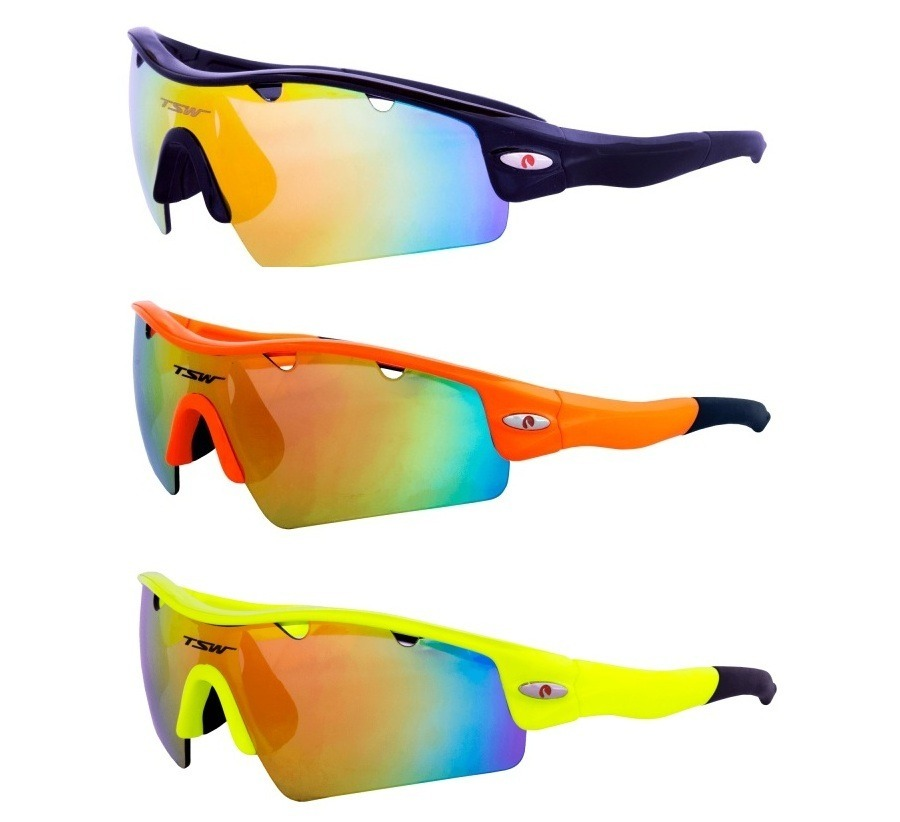 08899dfd5b óculos ciclismo corrida tsw alux bike mtb 3 lentes uv400. Carregando zoom.