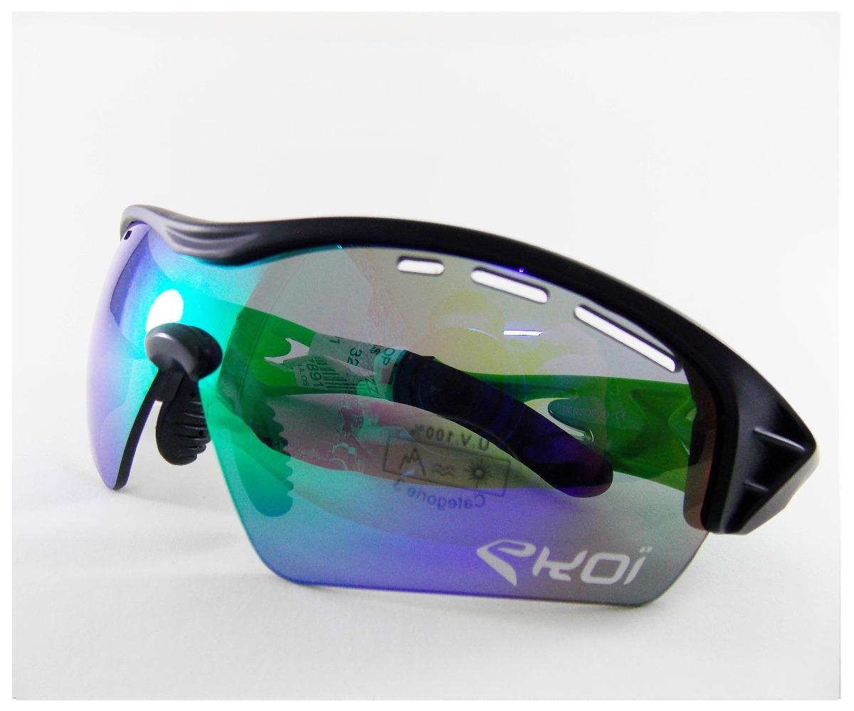 Óculos Ciclismo Ekoi Evo Proteção Uv Importado - R  299,90 em ... 81961b3c69