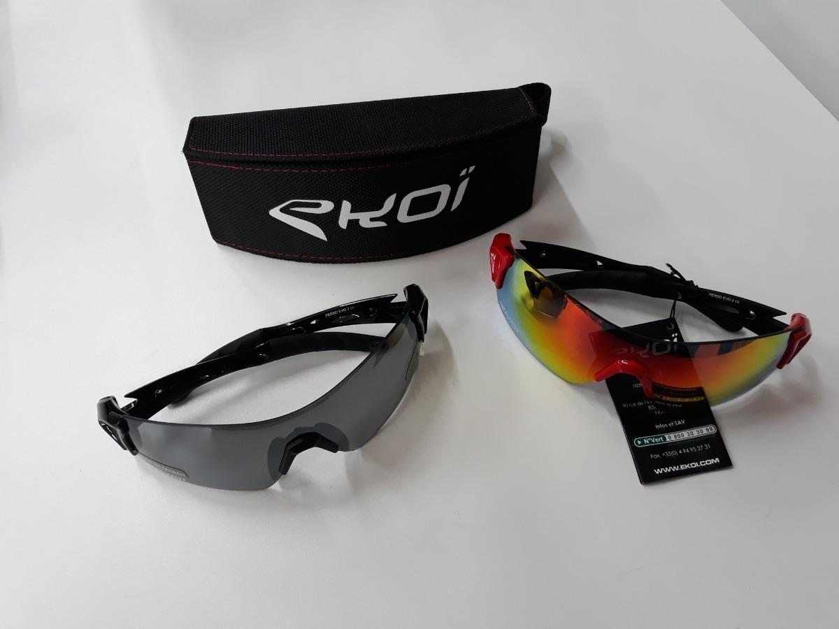 Óculos Ciclismo Ekoi Original Perso Evo 2 - R  379,00 em Mercado Livre bfca0d1d7e