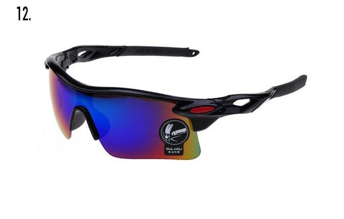 319680b68ec24 Óculos Ciclismo Espelhado Oulaiou Esportivo Bike Uv400 Hot - R  22 ...