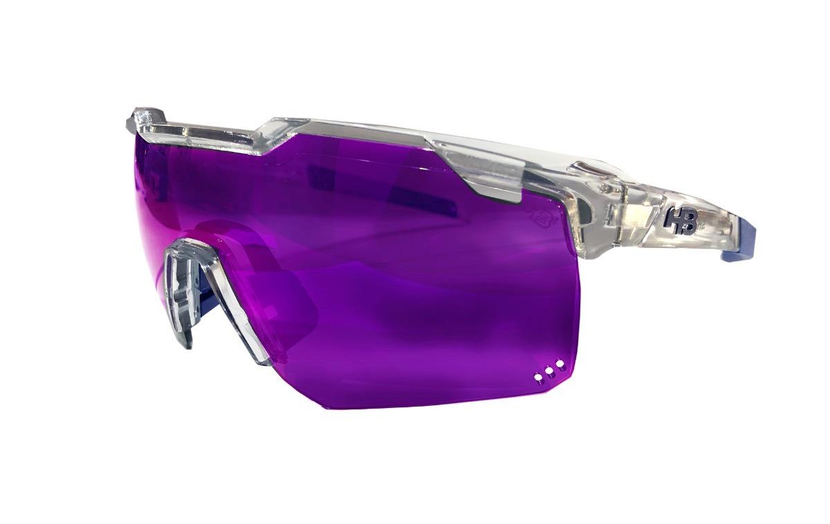 922d52440 Óculos Ciclismo Hb Shield Road Clear - R$ 330,00 em Mercado Livre