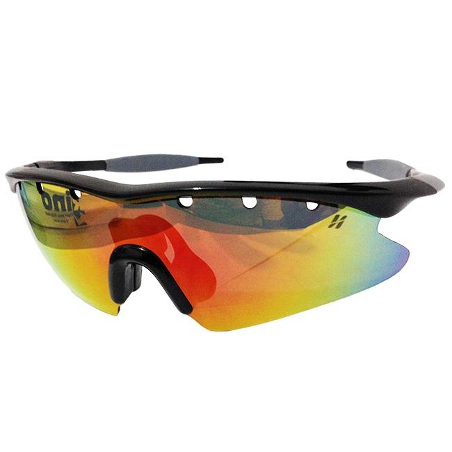 b79b98b6750c3 Óculos Ciclismo High One Fusion 3 Lentes + Case Preto - R  129,00 em  Mercado Livre