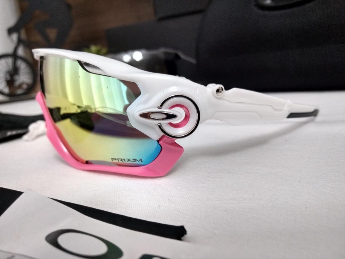 571454c79ade2 Óculos De Sol Esportivo P  Ciclismo Oakley Jawbreaker - R  189,00 em ...