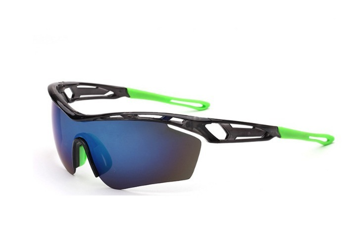 Óculos Ciclismo Mtb Corrida Bike Esporte Preto   Verde Pedal - R  60 ... 81c1fe7918