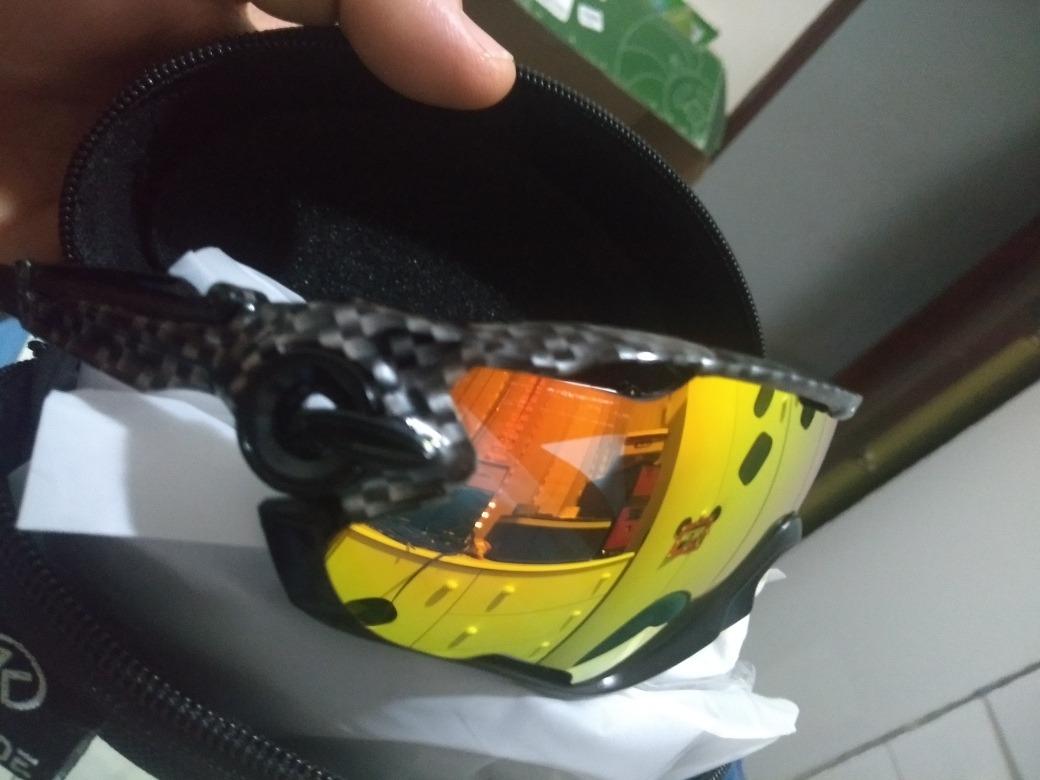 4eaf3cc69 Óculos Ciclismo Mtb Speed 3 Lentes - R$ 120,00 em Mercado Livre