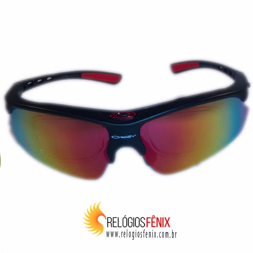bcb41cc195dde Óculos Ciclismo Oakley Jawbreaker Unisex - R  249,00 em Mercado Livre