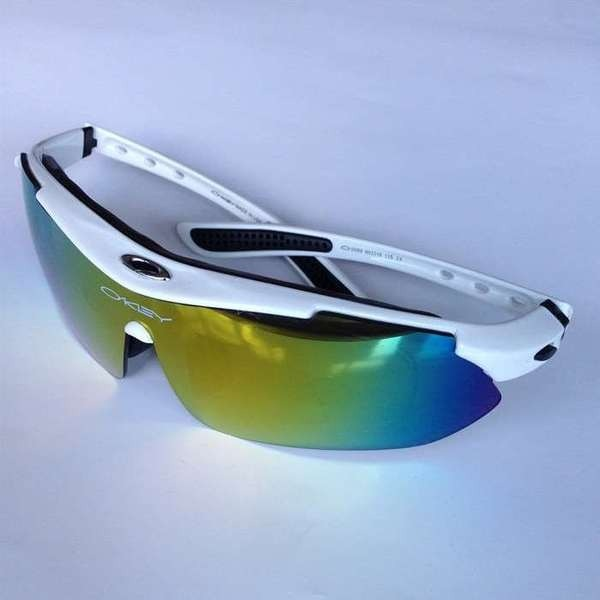 f721728cd41cc óculos esportivo ciclismo mtb speed tatico oakley 5 lentes · óculos  ciclismo oakley