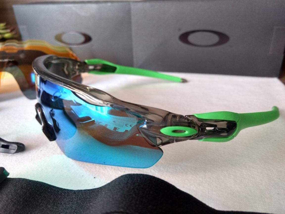 5a830662cdb10 Óculos De Sol Esportivo Ciclismo Oakley Radar - R  189,00 em Mercado Livre