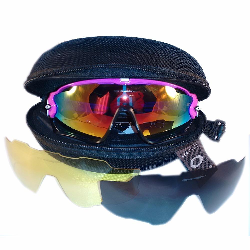 85bf57265cfa7 Óculos Ciclismo Oakley Jawbreaker - R  249,33 em Mercado Livre