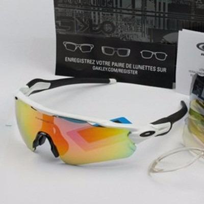 4ecad5d23acff Óculos Ciclismo Polarizado Oakley Radar Ev 5 Lentes