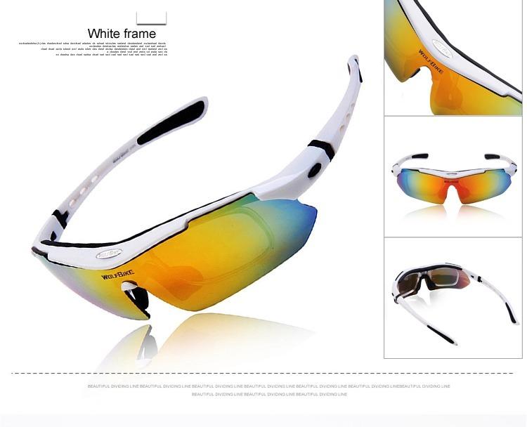 dcc025ddc Óculos Ciclismo Proteçao Sol 5 Lentes Uv 400 1 Polarizada - R$ 117 ...