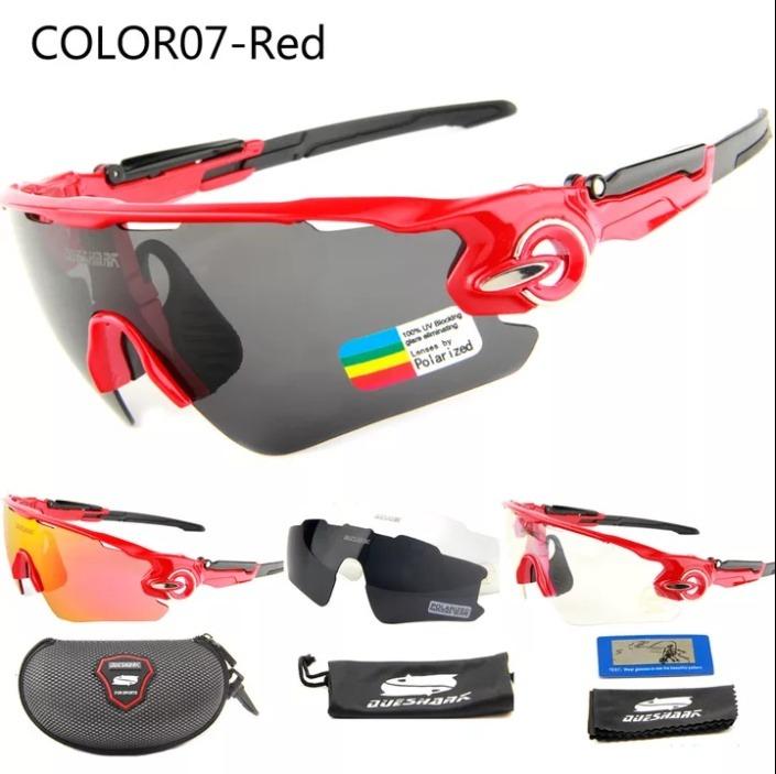 bbac43193 Óculos Ciclismo Queshark Mtb Speed 3 Lentes / Mod. Oakley - R$ 90,49 em Mercado  Livre
