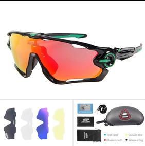 74d057279 Oculos Oakley Ciclismo 5 Lentes - Óculos Oakley para Bicicletas no Mercado  Livre Brasil