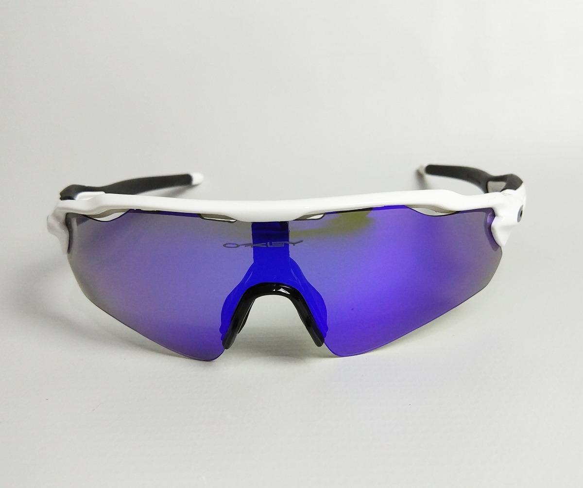 Óculos Ciclismo Radar Ev Branco   Preto - 5 Lentes - R  249,90 em ... 4ca7559921