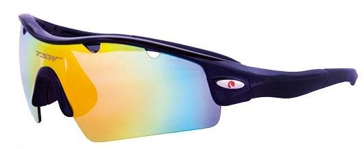 Óculos Ciclismo Tsw Alux 3 Lentes Uv400 C  Lente Polarizada - R  179 ... f7c0c46ffa