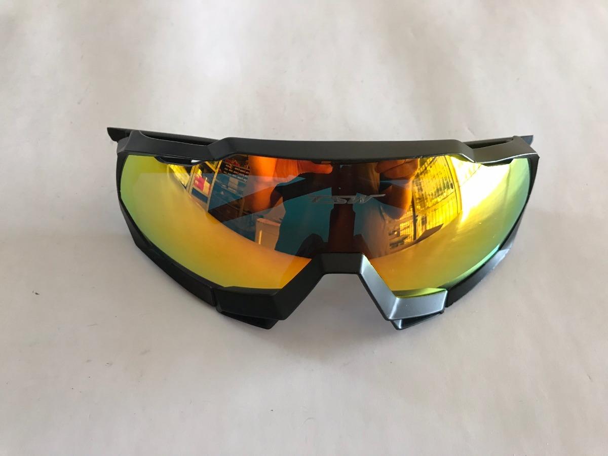 7b1e3970282eb óculos ciclismo tsw cross lente espelhada ajustável preto. Carregando zoom.