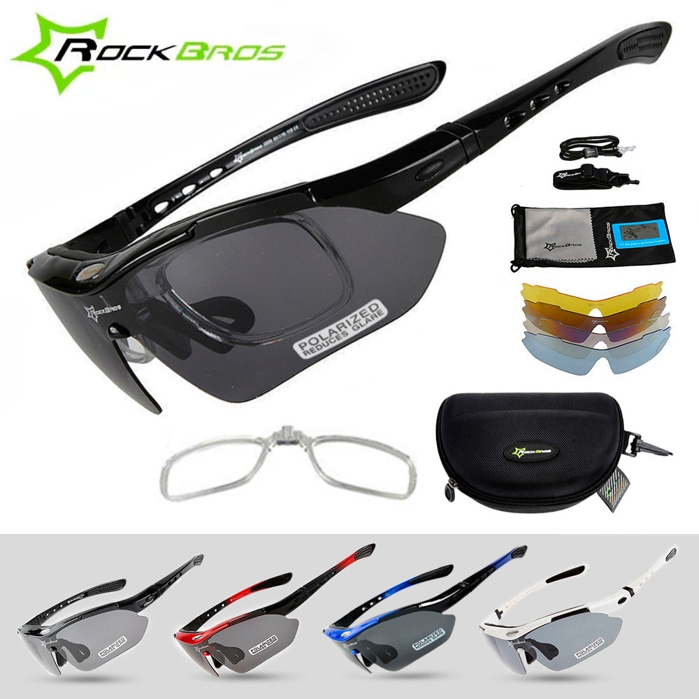 da43af7e15923 Óculos Ciclista Esporte 05 Lentes + Armação De Grau - R  118,49 em ...