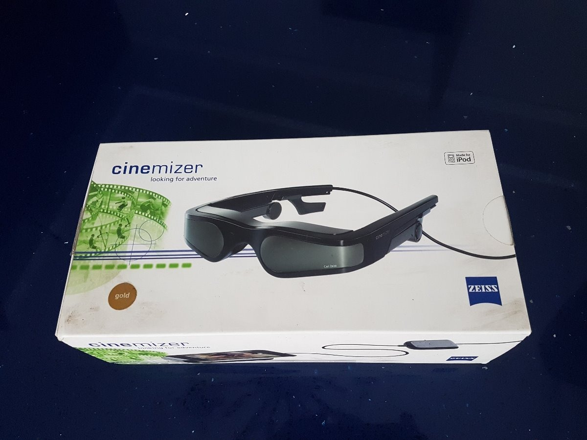 Oculos Cinemizer Gold 3d Calr Zeiss - Óculos De Video - R  700,00 em ... 71dae2cdb2