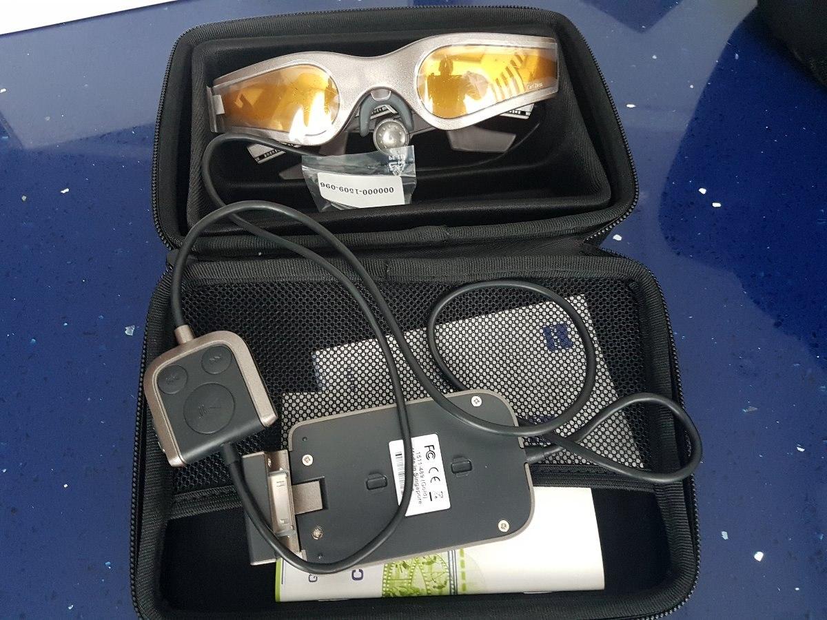 4c01f4376bc65 Oculos Cinemizer Gold 3d Calr Zeiss - Óculos De Video - R  700,00 em ...
