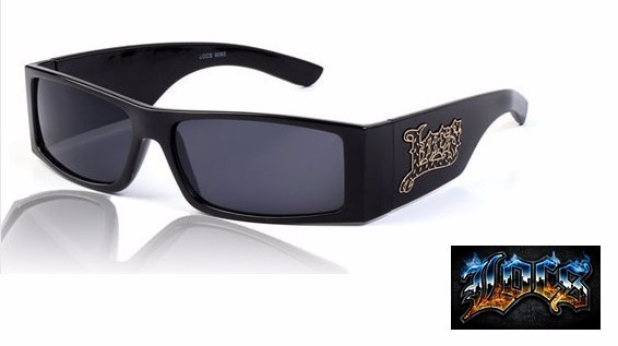 5f7f8eaf69cdc Óculos City Locs Gangsta Rap Lowrider Chicano Pronta Entrega - R  79 ...
