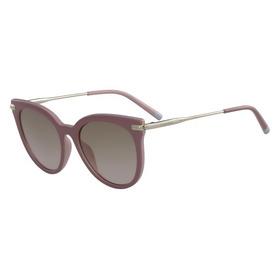 43cb789ac Óculos Ck Ck1237s 501 Vinho Lente Rosa Flash Prata Tam 55 - R$ 593 ...