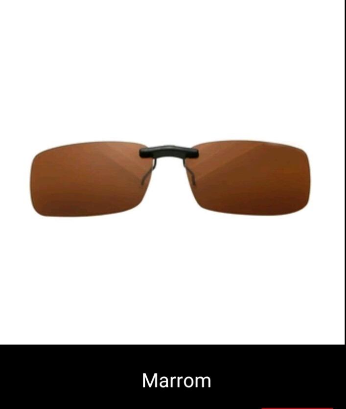 óculos clip on para óculos sobrepor lente polarizada uv400. Carregando zoom. f900c12721
