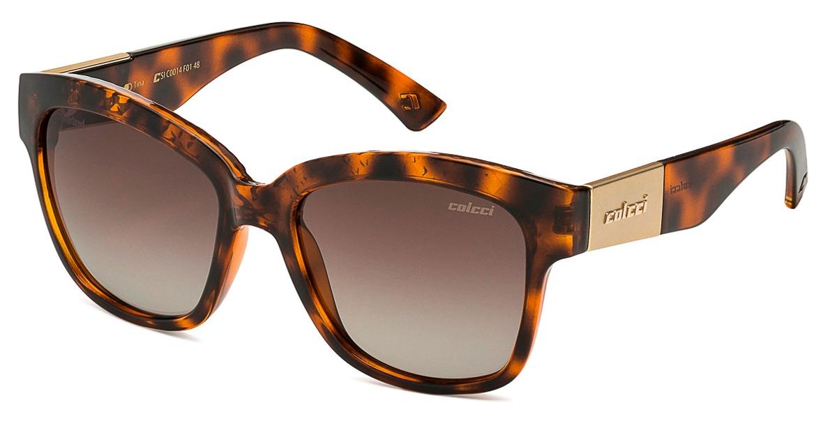 6679cacf41f8f óculos colcci tina polarizado marrom c0014f0148 c0014 xperio. Carregando  zoom.