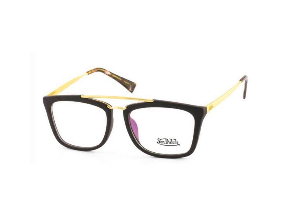 oculos com grau lentes antirreflexo von dutch vd61363c5. Carregando zoom. 9c6b4a4690