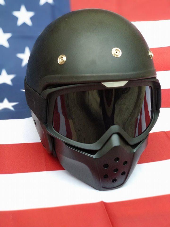 óculos com máscara estilo shark raw para capacete aberto. Carregando zoom. 7f2c249dd7