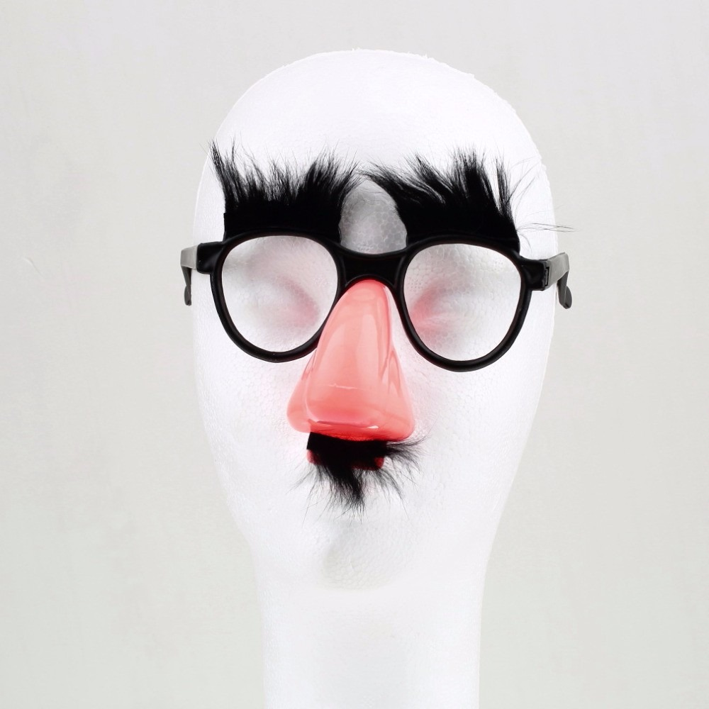 óculos com nariz e bigode - máscara disfarce festa fantasia. Carregando  zoom. 2cefce8734