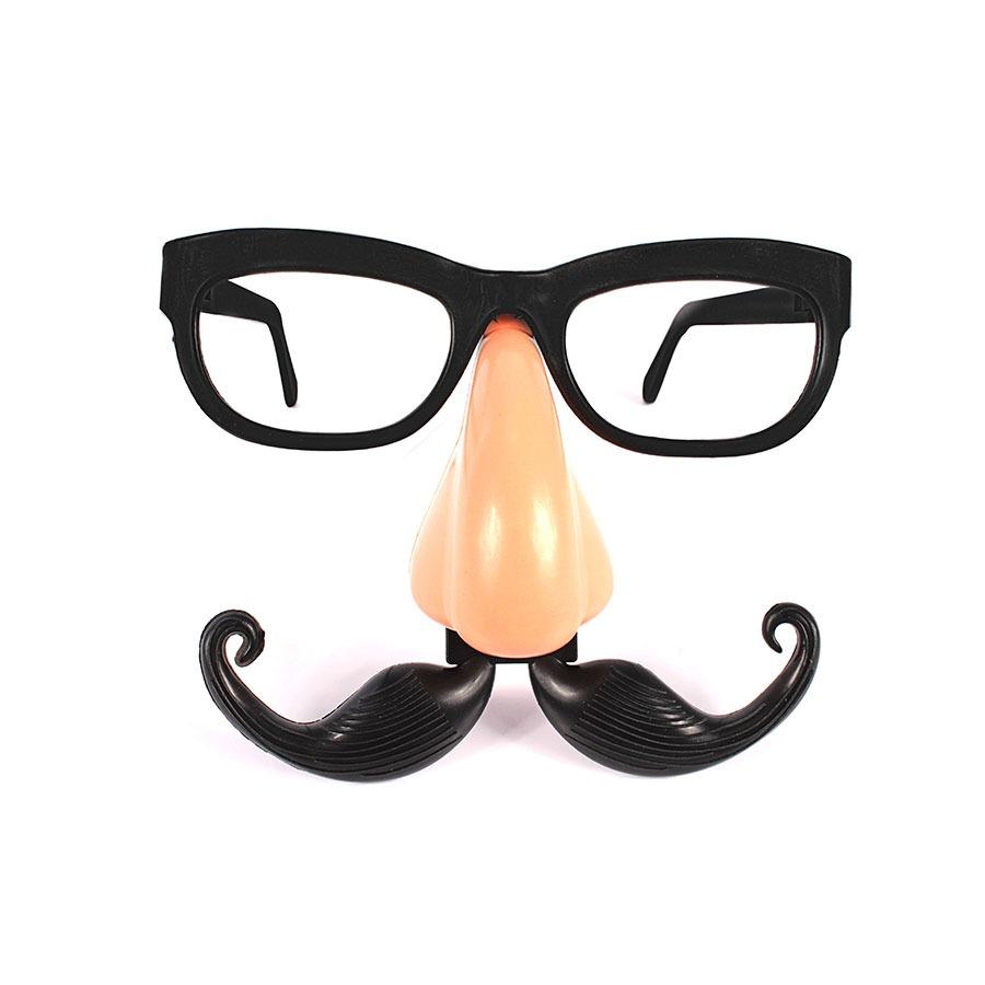 Óculos Com Nariz E Bigode Para Fantasias E Cosplay - R  3,15 em ... 71c17dd8f8