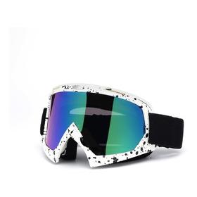 Óculos Cores Espelhado Grafiti Motocross - 100% Fox Thor