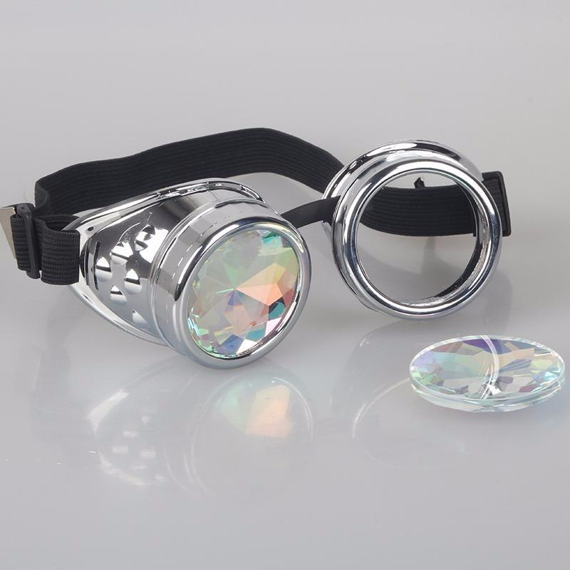 Oculos Cristal Cyber Caleidoscopio Psicodelico Rave Psy - R  149,00 ... 3b24b13b5a