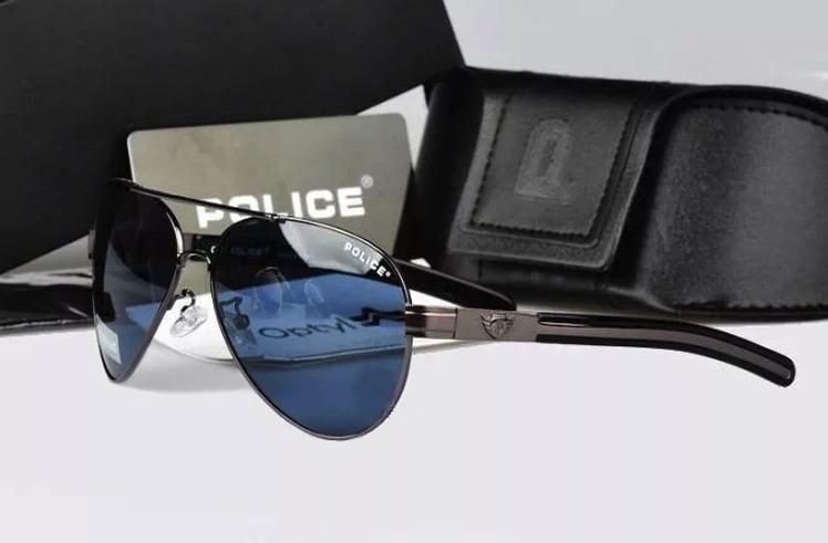 f5c60a1f96781 Óculos D Sol Polarizado Police 100%uvauvb Masculino Aviador - R  149 ...