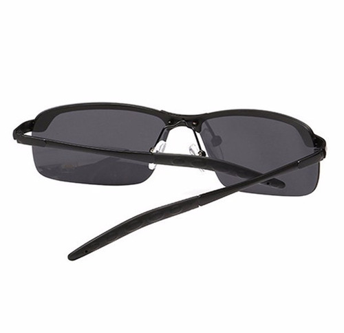 Óculos D Sol Preto Super Leve Masculino Feminino Proteção Uv - R ... 1ee06a0207